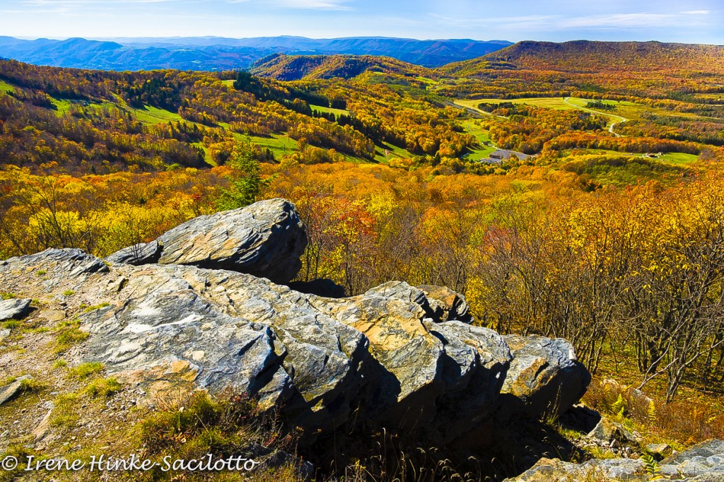 A fall photo tour should include a visit to Bald Knob.