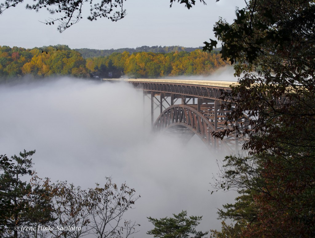 New River Bridge in southern West Virginia.