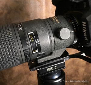 Colar for 200 mm macro lens