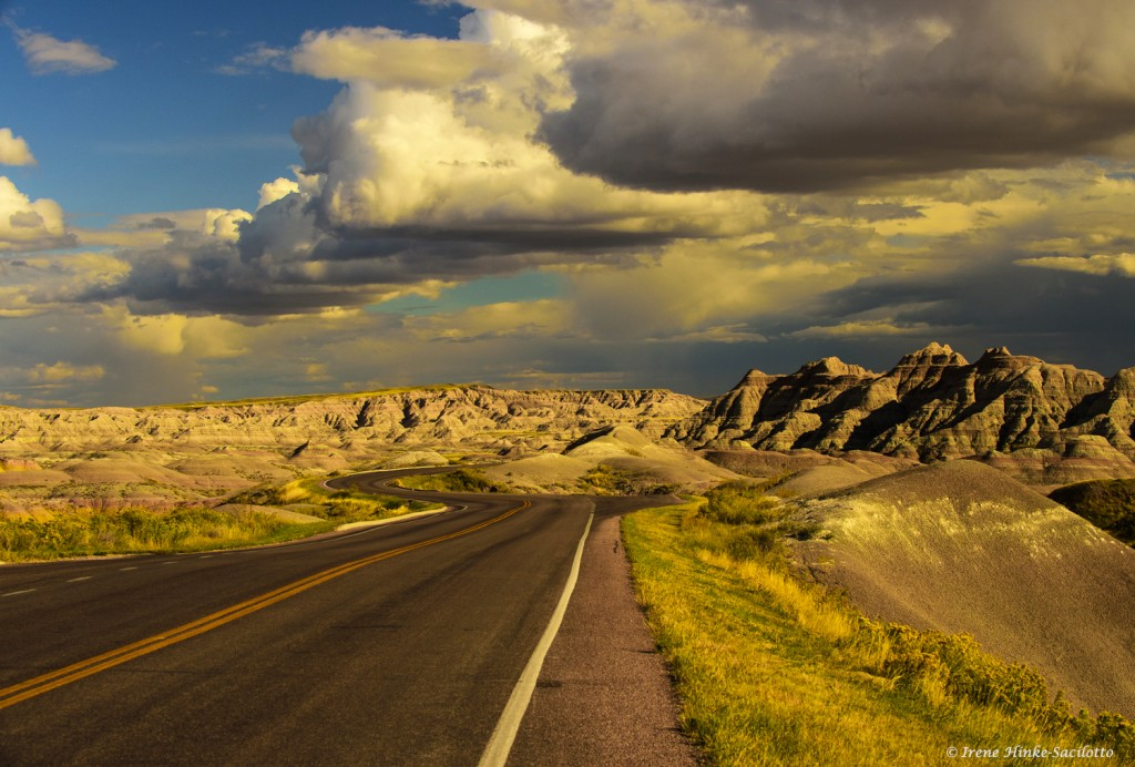 Badlands Loop Road travels through the northern part of Badlands National Park
